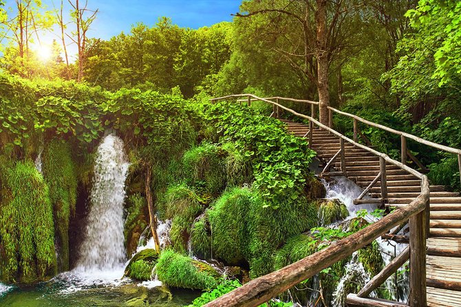 Self Guided Small Group Tour of Plitvice Lakes National Park from Zagreb