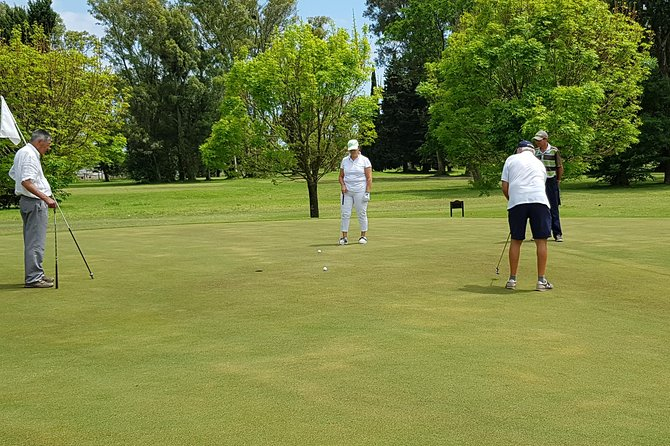 Golf day in Buenos Aires with Hotel pick Up and Drop Off. We stay with you