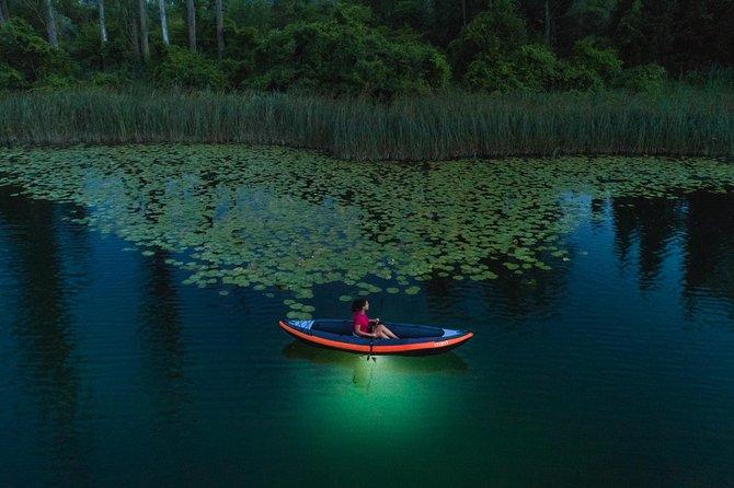 Night kayaking & snorkeling near Makarska