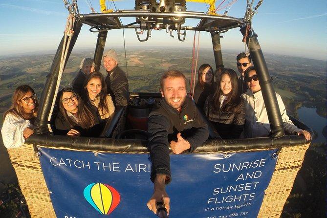 Hot air balloon rides in the Czech Republic