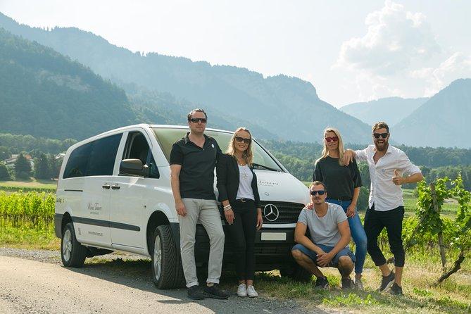 3 uur unieke wijntour - halve dag in de Zwitserse Alpen