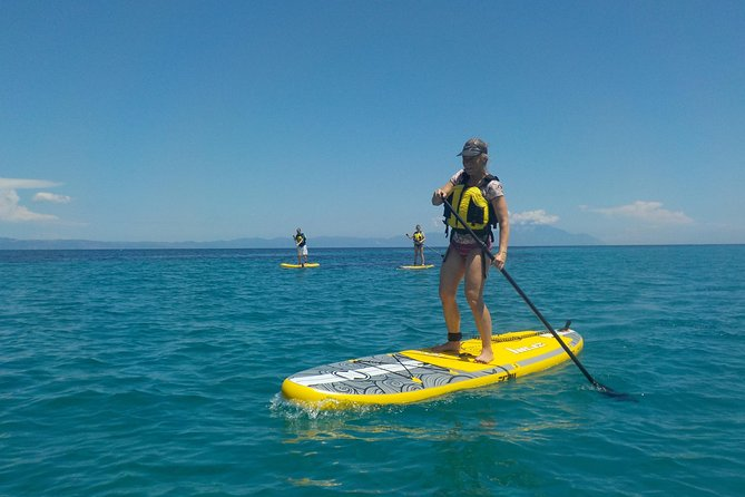Guided stand up paddle (SUP) lesson and tour