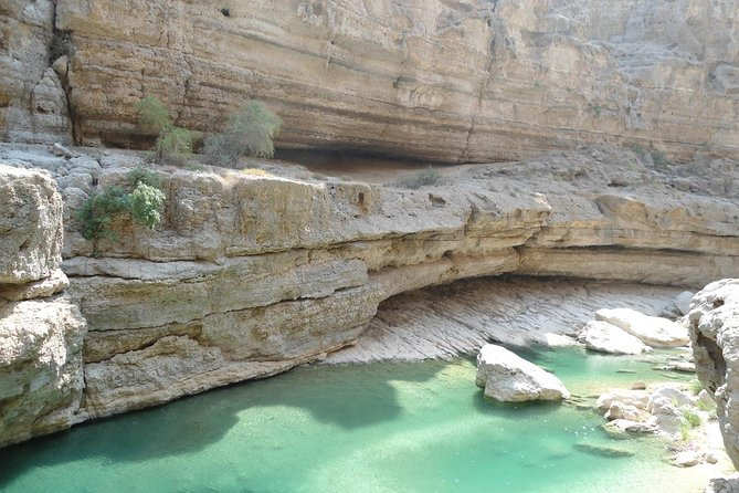 Off-road driving and swimming at the wild Wadi Arbeen photo 6