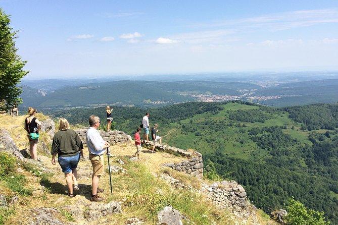 Day tour to Foix, Montségur and Mirepoix. Private tour from Toulouse.