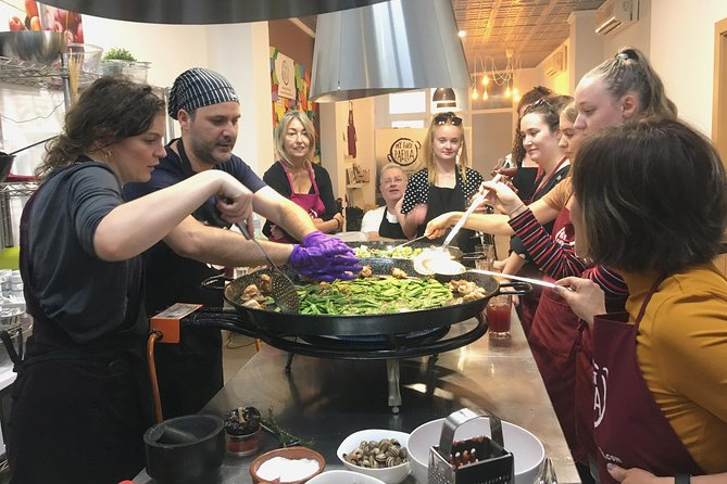 Workshop Valencian Paella and Visit Ruzafa Market
