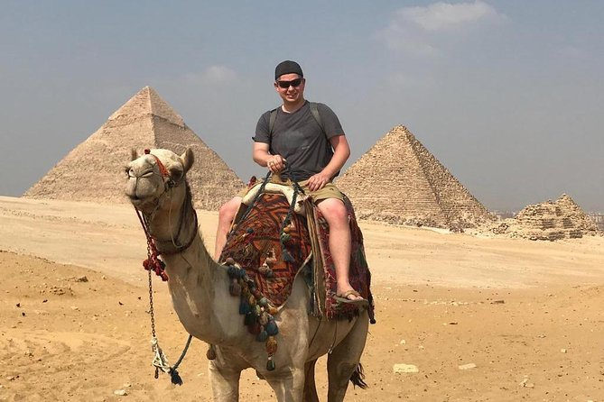 Small Group Day Tour Giza Pyramids With Camel Ride And Lunch