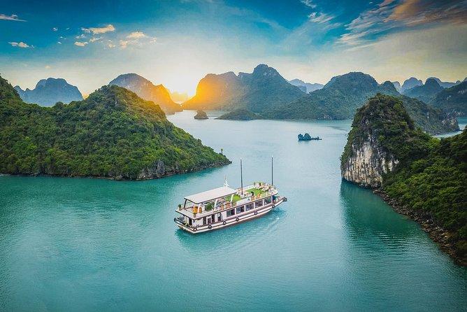 Explore Halong Bay & Lan Ha Bay One Day Tour on Arcady Cruise