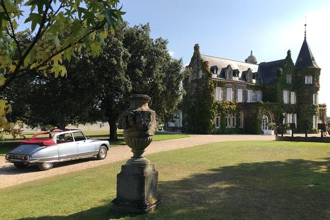 Médoc luxury wine trip from Bordeaux - Citroën DS Limousine Convertible