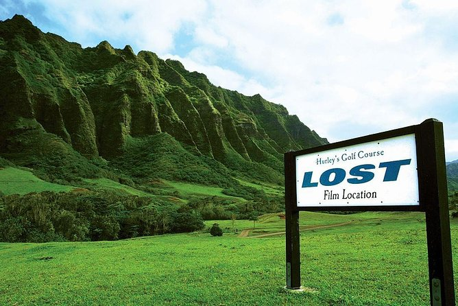 Oahu 1 Day Island Tour & Kualoa Ranch Hollywood Movie Site Tour with Lunch