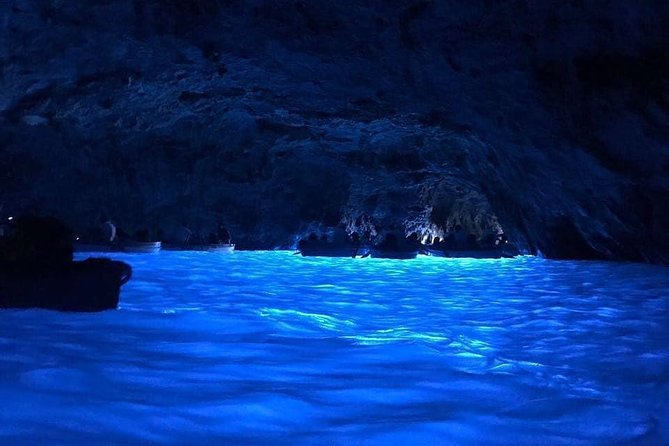 Semi-private boat tour of the Blue Grotto of Capri (7/8 hours) from Sorrento