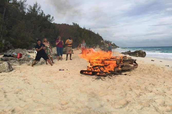 Bermuda Year Round Bonfire and Dark and Stormy Beach Experience