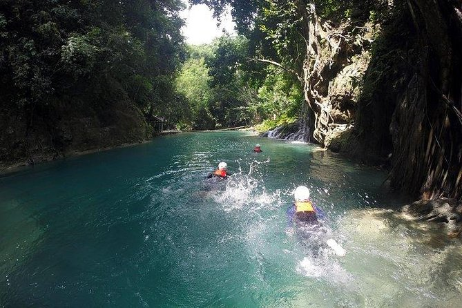 Oslob Whale Shark watching + Canyoneering Adventure Tour
