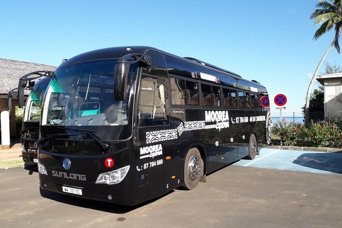 Transfers Package: Roundtrip ferry ticket &shared transfers in Tahiti & Moorea