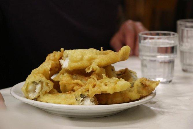 Traditionally-fried filetto di baccala