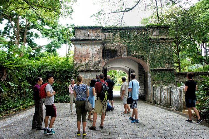 Singapore Battlebox and Fort Canning Hill Tour