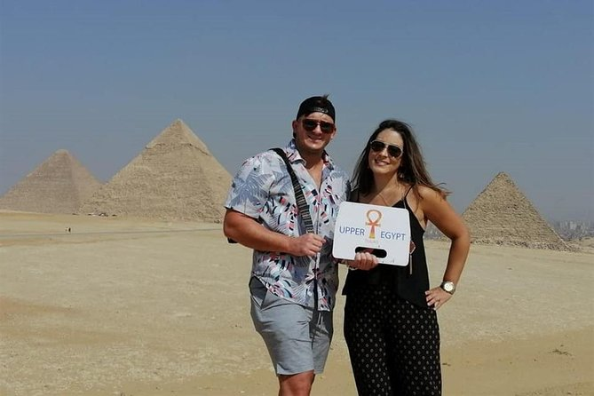 Full-day tour Giza pyramids and Egyptian Museum and bazaar Include camel ride, Lunch