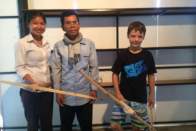 Traditiional Khmer Crossbow Making