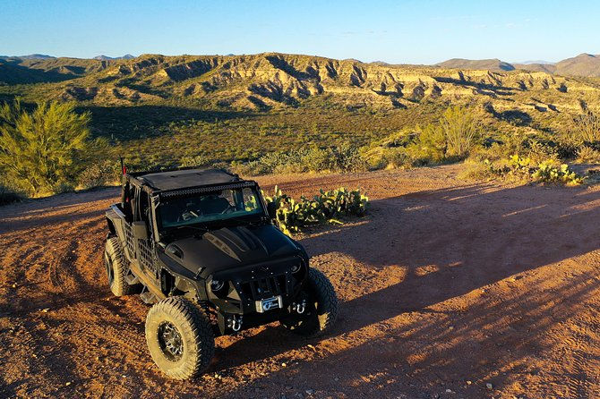 Private Scottsdale Off-Road Jeep Tour