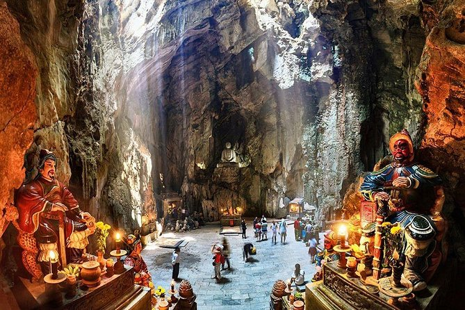 Marble Mountains - Am Phu Cave - Monkey Mountains from Hoi An (small group)
