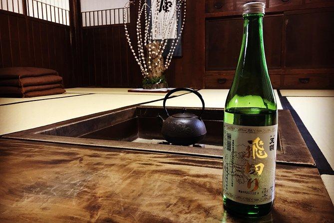 Private & Premium Sake Brewery Tour in Hida