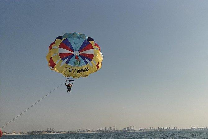 Parasailing Adventure on Jumeirah Beach with Sea Bird water Sports Dubai