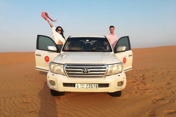 Desert Safari Dubai with High Dunes Bashing and 3 Shows with BBQ and Dinner