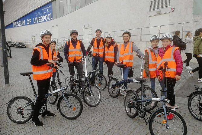 Liverpool City Center Small-Group Bike Tour
