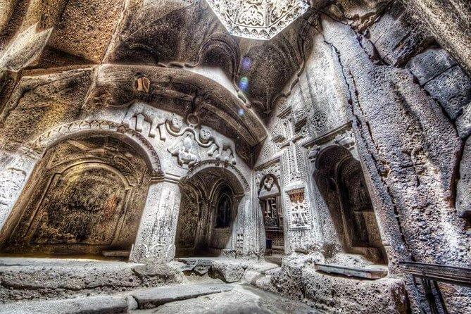 One day tour to Garni pagan Temple and Geghard Monastery