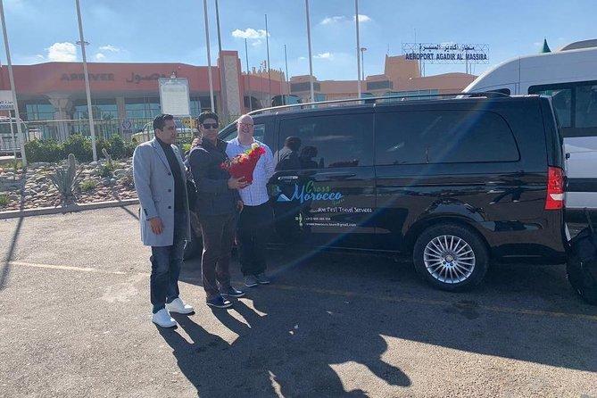 Airport Transfer from Agadir to Casablanca