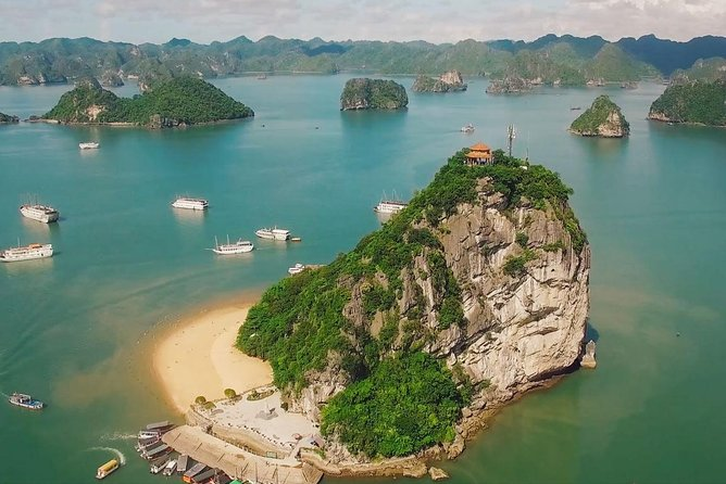 Amazing full day in Halong Bay with Cave, Kayaking and Swimming - Highway option