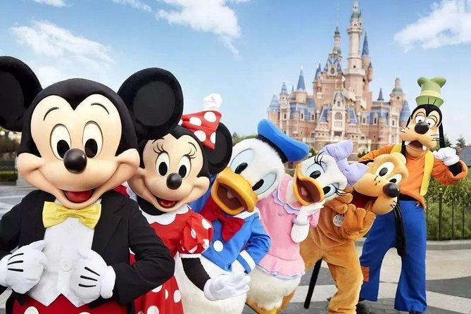 Private Transfer between Shanghai Disneyland and Pudong International Airport