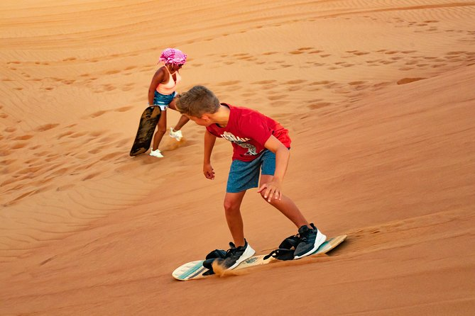 Miracle Morning Safari in the arabic desert including Sandboarding and Camelride photo 9