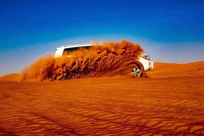 Miracle Morning Safari in the arabic desert including Sandboarding and Camelride photo 10