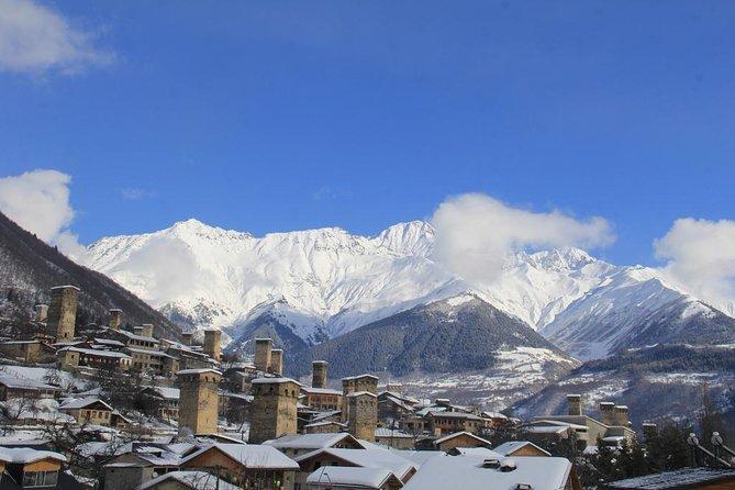 Winter Skiing Tour to Gudauri and Svaneti Resorts