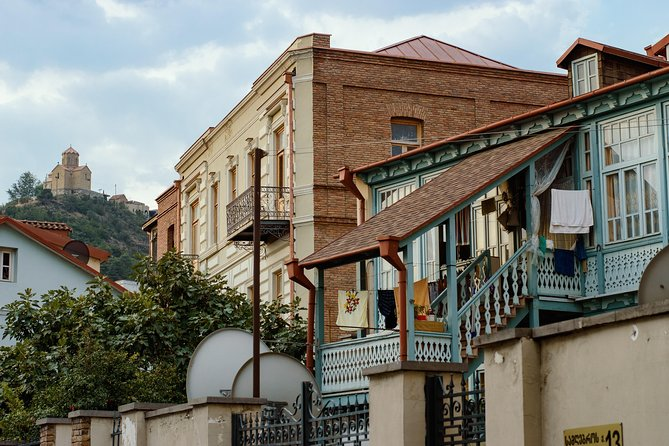 Sightseeing walking tour around Tbilisi