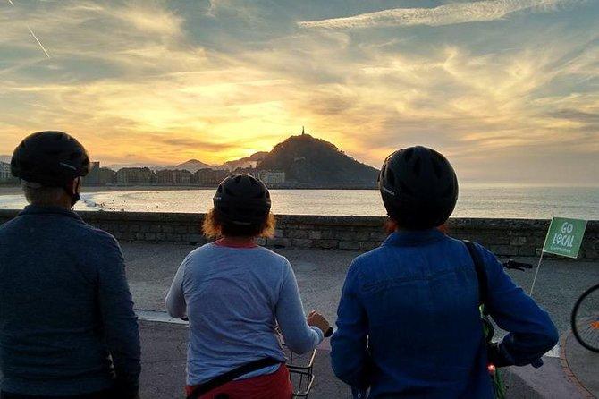 Recorrido en bicicleta eléctrica en San Sebastián