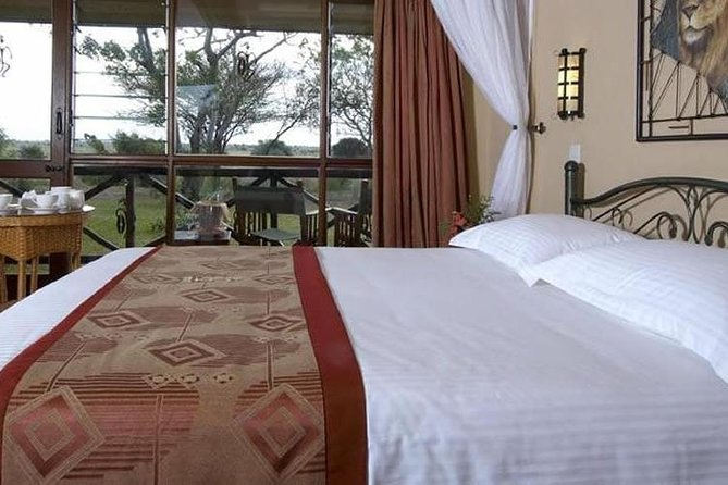 2 Days Tsavo East Ashnil Aruba Lodge Luxury Lodge