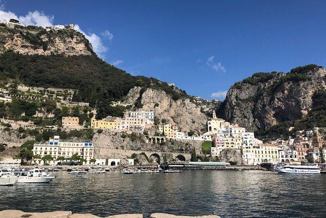 Excursion to the Amalfi coast from Sorrento