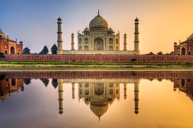 Agra Taj Mahal Sunrise Tour from Delhi