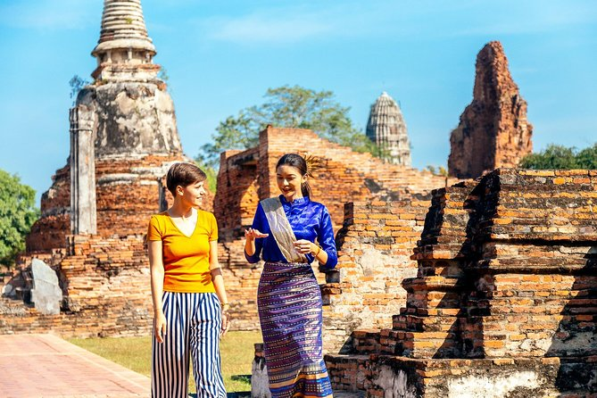 From Bangkok: Magical Day Tour to Ayutthaya with Private Transport
