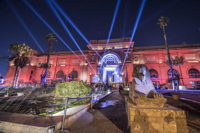 Night at the Egyptian Museum tour in Sunday and Thursday