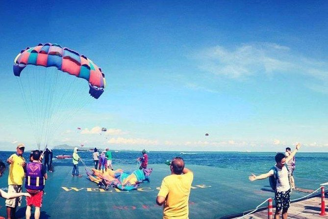 Pattaya: Coral Island Snorkeling, Parasailing and Lunch by Speed Boat