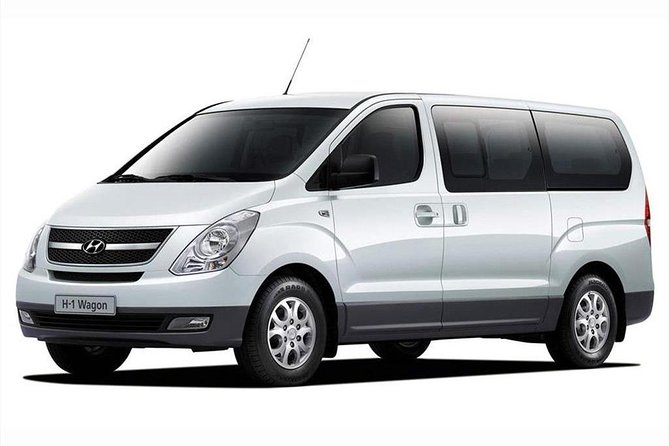 Arrival Private Transfer Siem Reap Airport REP to Siem Reap City by Business Van