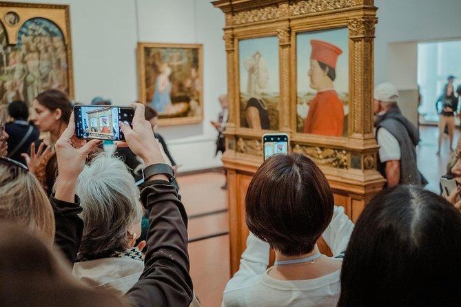 Galería de los Uffizi, visita guiada.