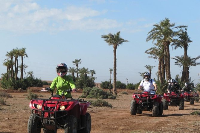 QUAD BIKE Small Group 1/2 Day in Marrakech photo 11