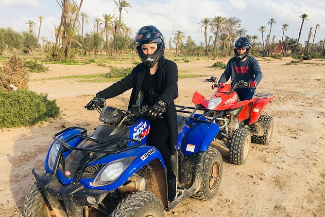 QUAD BIKE Small Group 1/2 Day in Marrakech photo 6