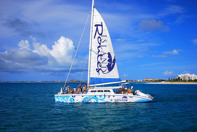 Turks & Caicos Sesame Sail Away Catamaran Cruise