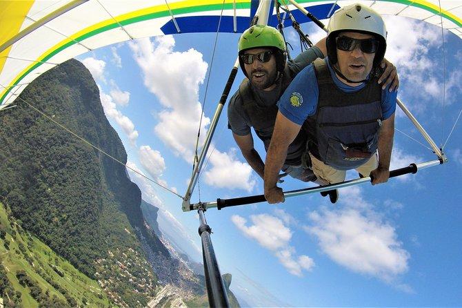Hang gliding or Paragliding in Rio de Janeiro - Transfer - Unforgettable experience!
