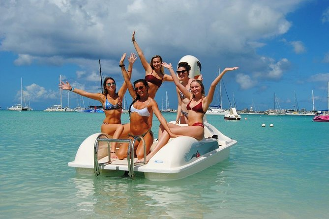 Create your own Pedal Boat TRIP & Free for kids ! with drinks, snorkeling, music photo 8