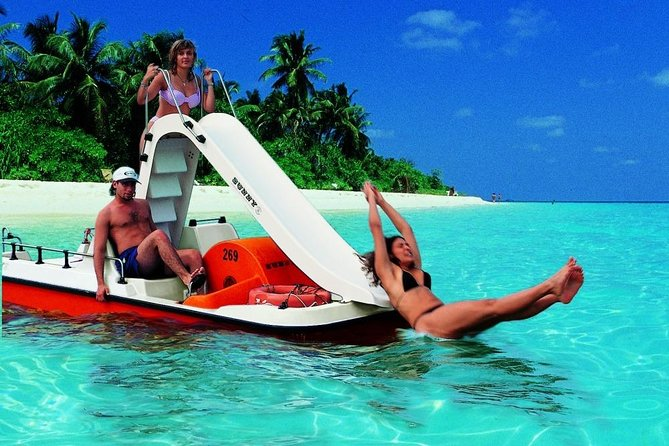 Create your own Pedal Boat TRIP & Free for kids ! with drinks, snorkeling, music photo 11